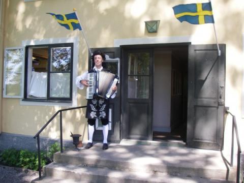 Nationaldagsfirande den 6 juni på Tullgarn