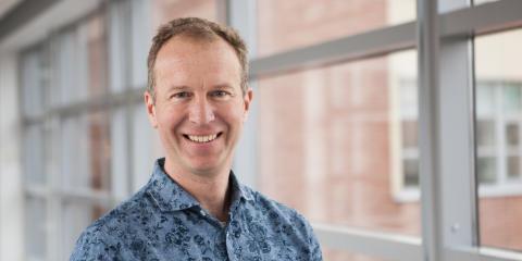 Han är ny programchef för KK-miljön Primus
