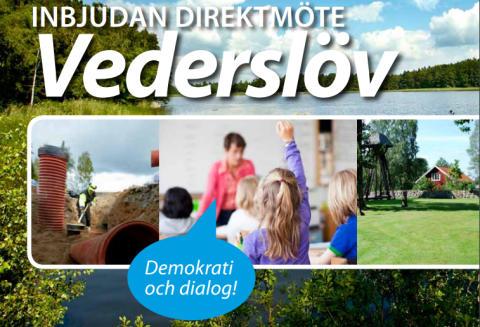 Pressinbjudan: Direktmöte i Vederslöv