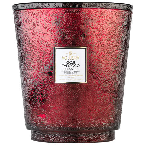Hearth Candles  - Goji Tarocco Orange