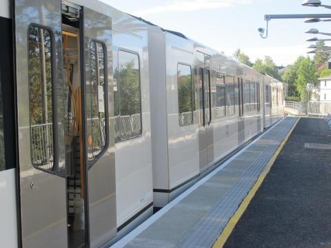 Lambertseterbanen delåpnes 8. juli fram til Karlsrud stasjon.