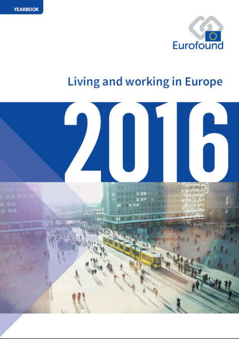 living and working in europe - front cover