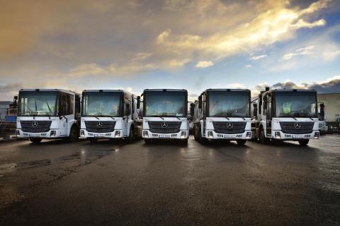 Mercedes-Benz Econic kommer snart med eldrift
