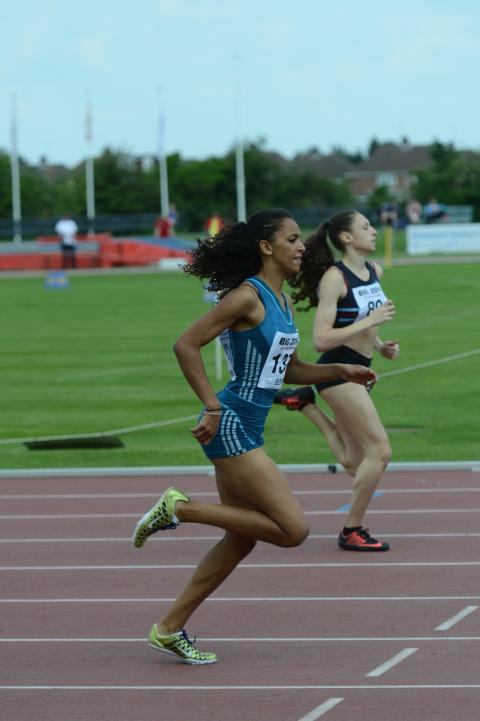 400m runner Laviai Nielsen shortlisted for SportsAid's One-to-Watch Award
