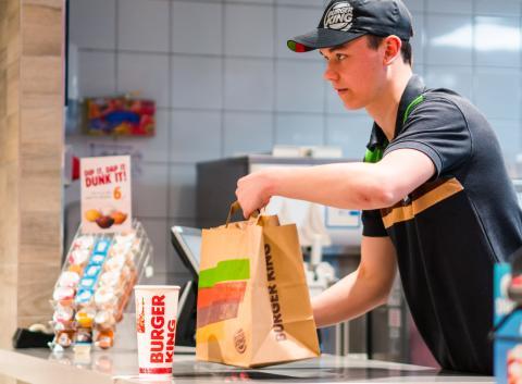 Burger King skal levere med Just Eat