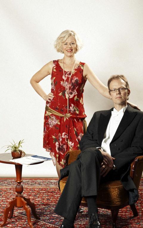 Ann-Sofi Härstedt och Magnus Lindén