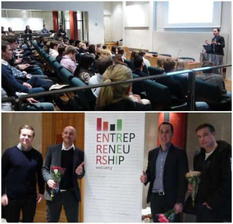 Lansering av Entrepreneurial Spring Week