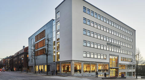 Borås Kongress lobby space