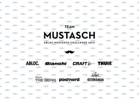 Team Mustasch cyklar i kampen mot prostatacancer – igen.