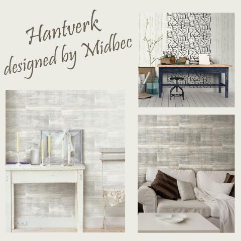 Nyheter - Tapeter designed by Midbec - Hantverk