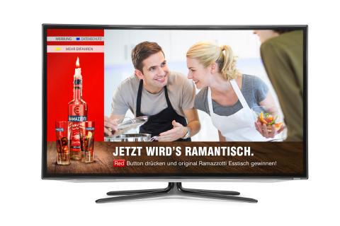 Neue Ramazzotti Kampagne im Addressable-TV national ab August