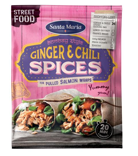 Santa Maria Ginger & Chili Spices (Street Food)