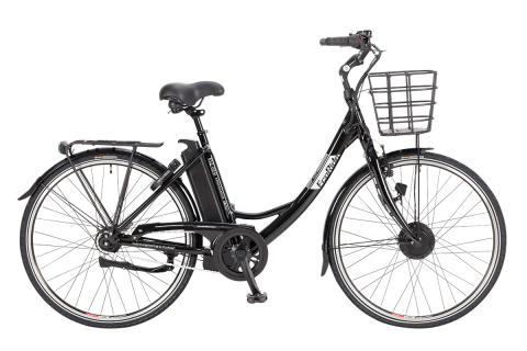 EcoRide elcykel - Ambassador 2016 Svart