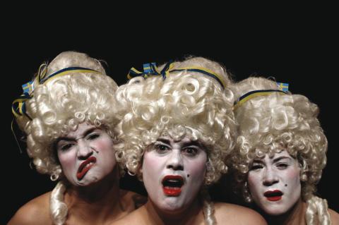 Gruppen kartlägger den svenska teatern! Urpremiär 3 juni.