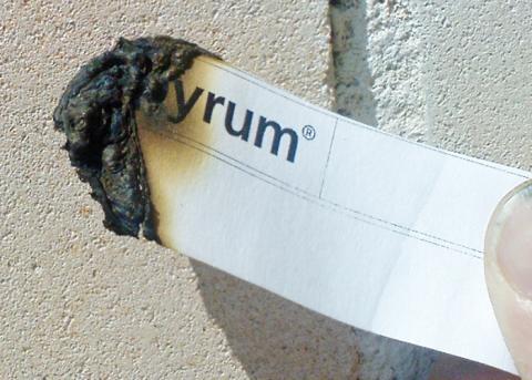 Apyrum papperstest