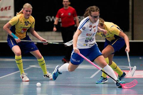 U19-damerna förlorade mot Finland.