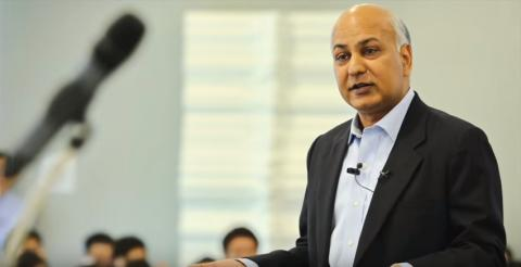 President Achal Agarwal speaks at NUS Business School on the Critical Attributes for Business Leaders in Asia