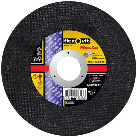 Flexovit Mega-Line tynne kappeskiver - Produkt 2