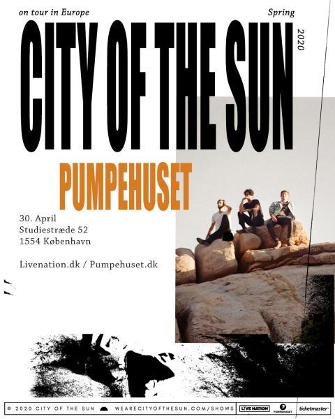 Den instrumentale powerhouse trio - City Of the Sun til Pumpehuset
