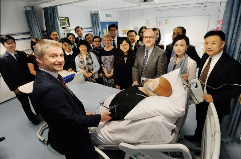 Northumbria showcases world-class medical expertise to Chinese delegates