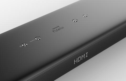 Philips Fidelio Soundbar med Dolby Atmos d