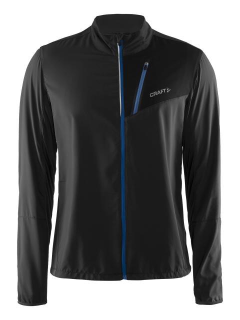 Devotion jacket (herr) i färgen black/biew