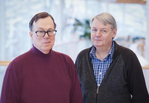 Thord Silverbark och Stephan Larsen. Foto: Eva Dalin.