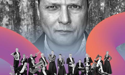 Unik konsert med Östgöta Blåsarsymfoniker och Magnus Carlson på Linköpings Stadsfest