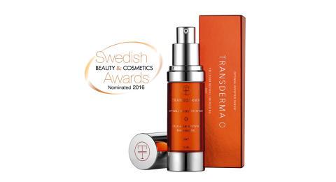 Transderma dubbelt nominerad till Swedish Beauty & Cosmetics Awards 2016