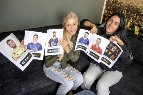 Paradise-jentene kårer Eliteseriens kjekkeste