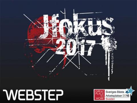 Webstep stolt sponsor av JFokus 2017