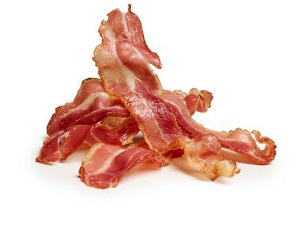 Bacon uten tilsatt vann