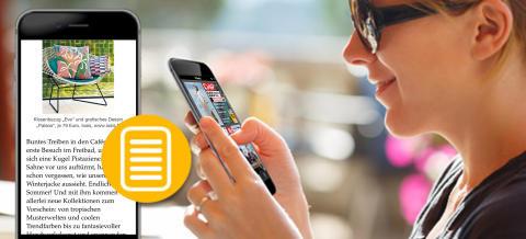 Magazin-Flatrate startet Mobile Reading