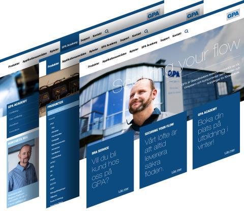 Nu lanserar vi vår nya webb - Välkomna!