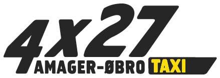 Logo Taxi 4x27 - AØT - meget lille