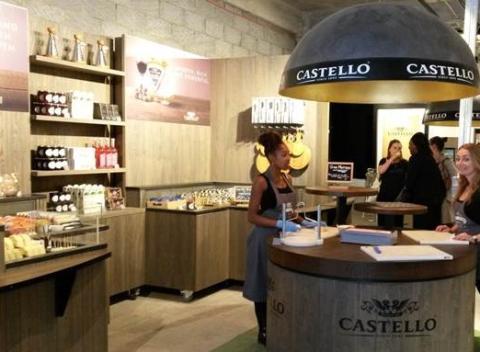 Castello pops up in London