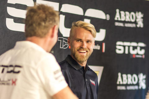 Antti Buri, LMS Racing. Foto: Daniel Ahlgren/STCC