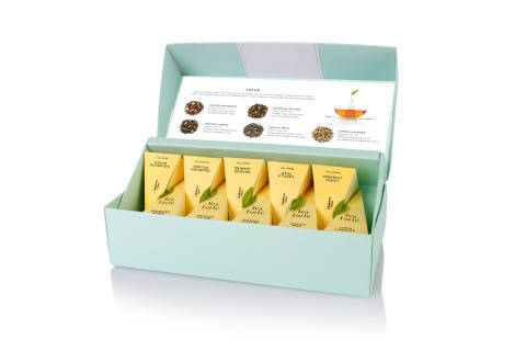 Tea Forté Lotus Collection Petit Presentation Box open