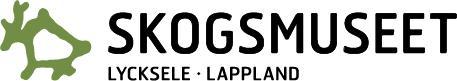 Skogsmuséet Lycksele - Logo liggande