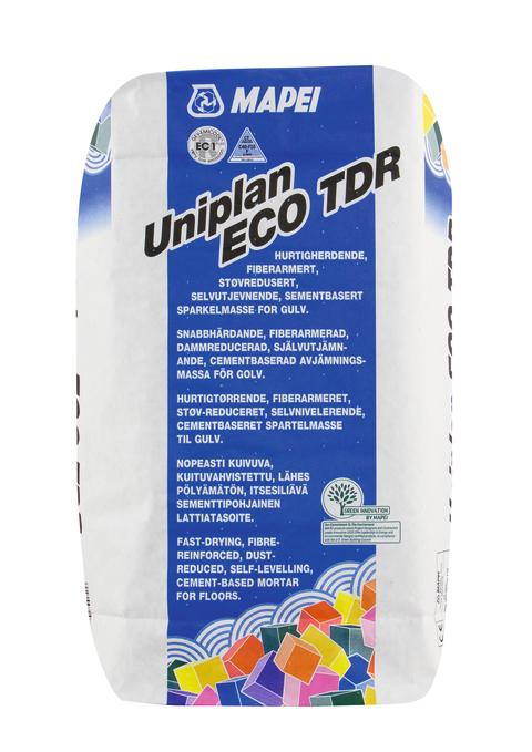Mapei Uniplan ECO TDR emballasjefoto