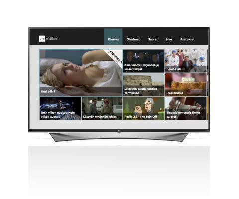 YLE AREENA SAAPUU LG:N SMART TV -ALUSTALLE