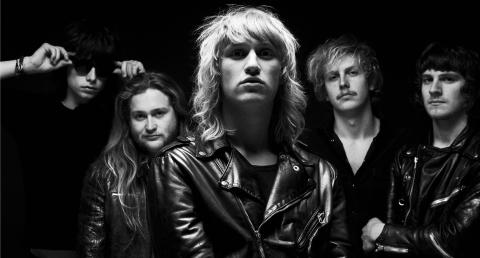 Det fremadstormende rockband Go Go Berlin i VEGA med nyt album