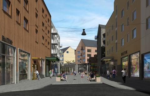 Assemblin får multitekniskt uppdrag i Kirunas nya stadskärna