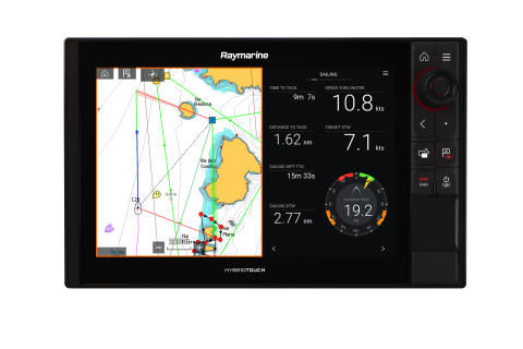 High res image - Raymarine - LH3.9 Sailing features