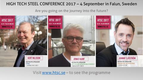 HIGH TECH STEEL CONFERENCE