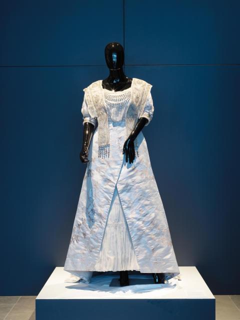 Selma Lagerlöfs nobelklänning 1909.