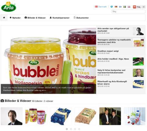 Arlas newsroom på Mynewsdesk