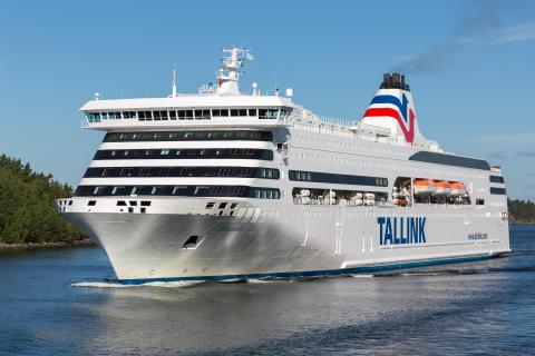Tallink Grupp ställer in trafiken med passagerarfärjorna på rutten Riga–Stockholm från och med den 16 mars 2020