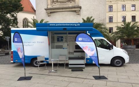 Beratungsmobil der Unabhängigen Patientenberatung kommt am 22. Februar nach Görlitz.