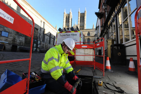 BT rings up £79 million boost for Lincolnshire economy